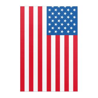 USA Flag stars and stripes Acrylic Wall Art