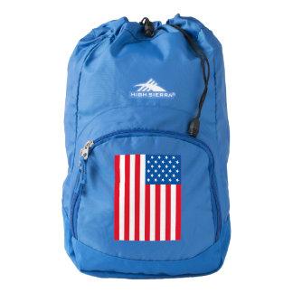USA Flag stars and stripes Backpack