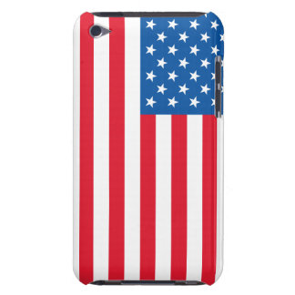 USA Flag stars and stripes Barely There iPod Case