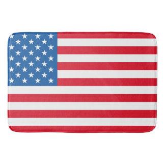 USA Flag stars and stripes Bath Mat