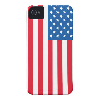 USA Flag stars and stripes Case-Mate iPhone 4 Case