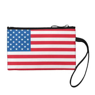 USA Flag stars and stripes Coin Purse