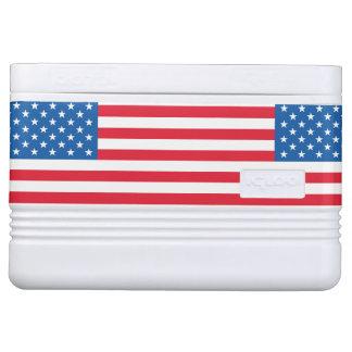 USA Flag stars and stripes Cooler