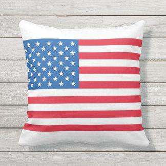 USA Flag stars and stripes Cushion
