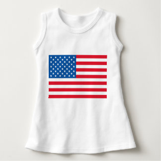 USA Flag stars and stripes Dress