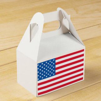 USA Flag stars and stripes Favour Box