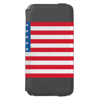 USA Flag stars and stripes Incipio Watson™ iPhone 6 Wallet Case
