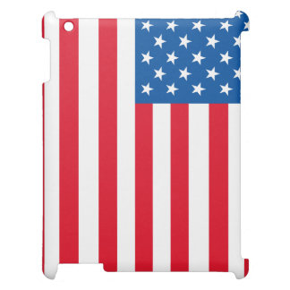 USA Flag stars and stripes iPad Case