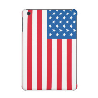 USA Flag stars and stripes iPad Mini Cover