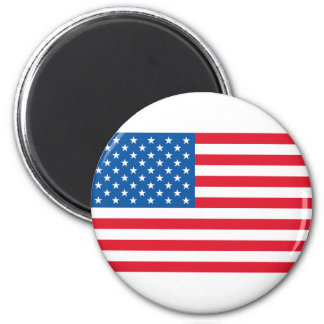 USA Flag stars and stripes Magnet