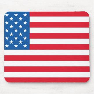USA Flag stars and stripes Mouse Pad