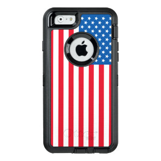 USA Flag stars and stripes OtterBox Defender iPhone Case