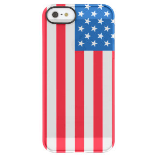 USA Flag stars and stripes Permafrost® iPhone SE/5/5s Case