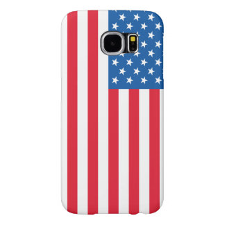 USA Flag stars and stripes Samsung Galaxy S6 Cases