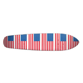 USA Flag stars and stripes Skate Board Deck