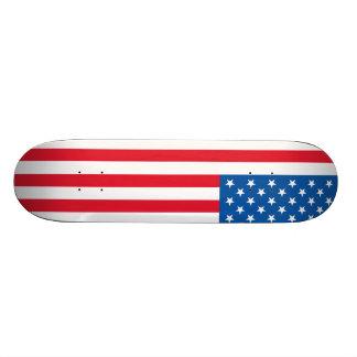 USA Flag stars and stripes Skate Board Decks