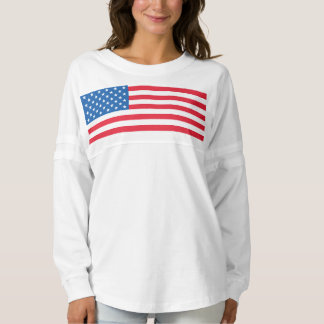 USA Flag stars and stripes Spirit Jersey
