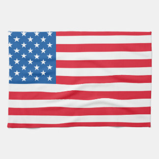 USA Flag stars and stripes Tea Towel