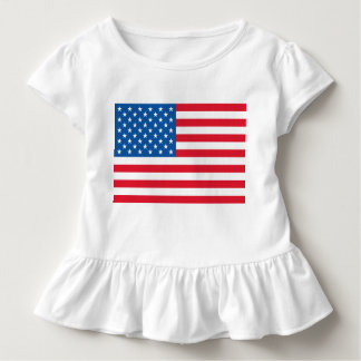 USA Flag stars and stripes Toddler T-Shirt