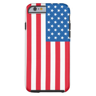 USA Flag stars and stripes Tough iPhone 6 Case