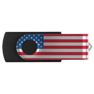 USA Flag stars and stripes USB Flash Drive