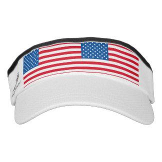 USA Flag stars and stripes Visor