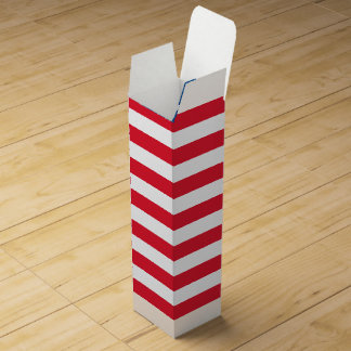 USA Flag stars and stripes Wine Gift Box