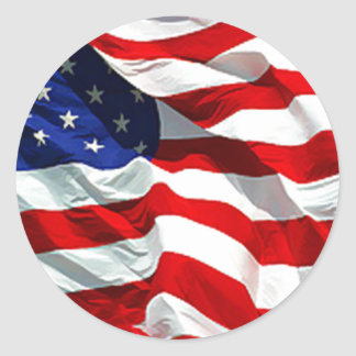 USA Flag Stickers