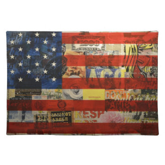 Usa Flag United States American Flag America Placemat