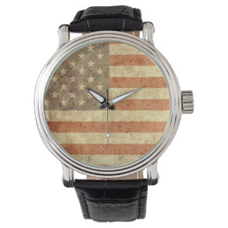 Usa Flag Wristwatch