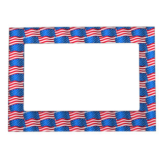 USA flags Magnetic Frame