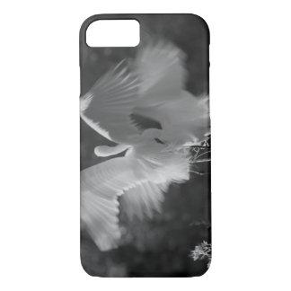 USA, Florida, Great Egret (Ardea alba) infrared 3 iPhone 7 Case