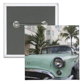 USA, Florida, Miami Beach: South Beach, 1956 3 15 Cm Square Badge