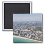 USA, Florida, Miami, Cityscape with beach 3