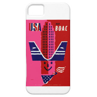 USA ~ Fly BOAC Barely There iPhone 5 Case