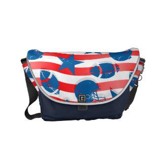 USA football Commuter Bags