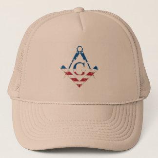 USA Freemasonic symbol Trucker Hat