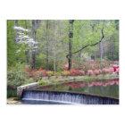 USA, Georgia, Pine Mountain. A small waterfall Postcard