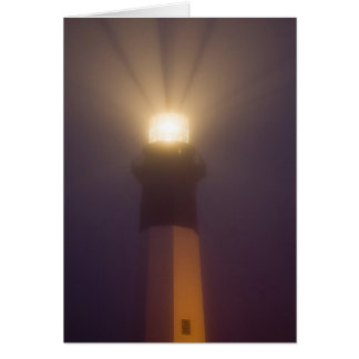 USA; Georgia; Savannah.  Tybee Island Lighthouse Greeting Card