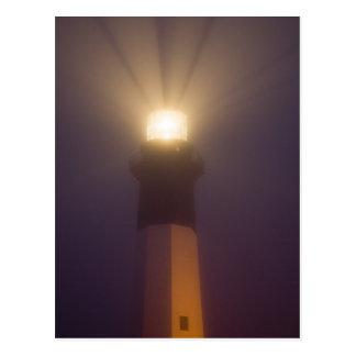 USA; Georgia; Savannah.  Tybee Island Lighthouse Postcard