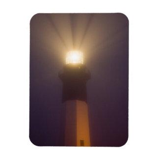 USA; Georgia; Savannah.  Tybee Island Lighthouse Rectangular Photo Magnet