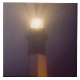 USA; Georgia; Savannah.  Tybee Island Lighthouse Ceramic Tile