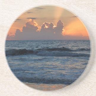 USA, Georgia, Tybee Island, Tybee Island Beach Beverage Coaster
