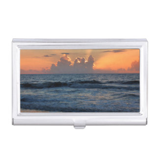 USA, Georgia, Tybee Island, Tybee Island Beach Business Card Holders