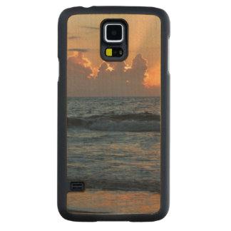 USA, Georgia, Tybee Island, Tybee Island Beach Maple Galaxy S5 Slim Case