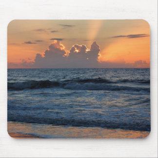 USA, Georgia, Tybee Island, Tybee Island Beach Mousepad