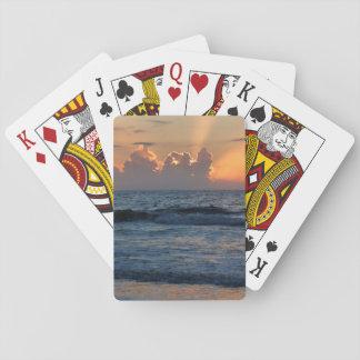 USA, Georgia, Tybee Island, Tybee Island Beach Playing Cards
