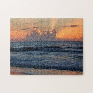 USA, Georgia, Tybee Island, Tybee Island Beach Puzzles