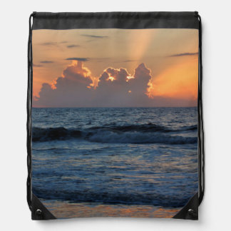USA, Georgia, Tybee Island, Tybee Island Beach Rucksack