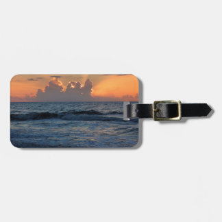 USA, Georgia, Tybee Island, Tybee Island Beach Travel Bag Tag